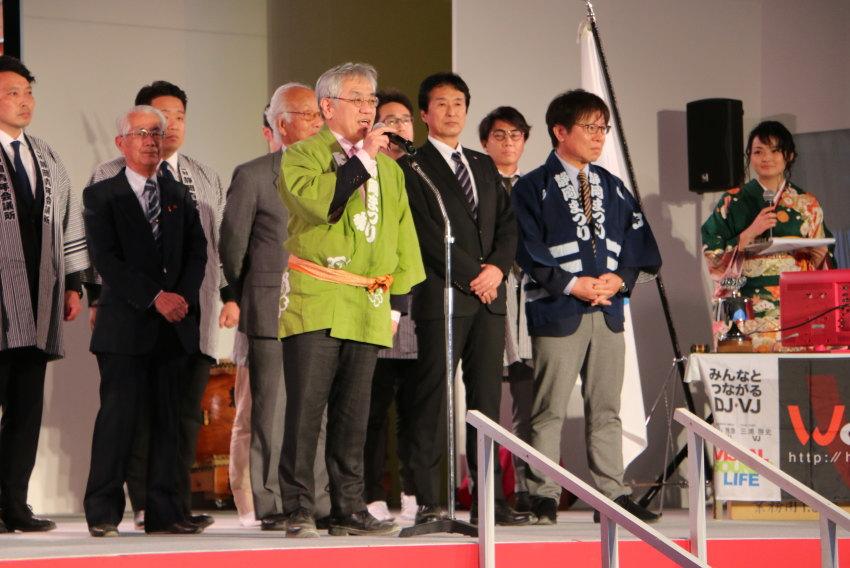 第62回実行委員長の開会の挨拶