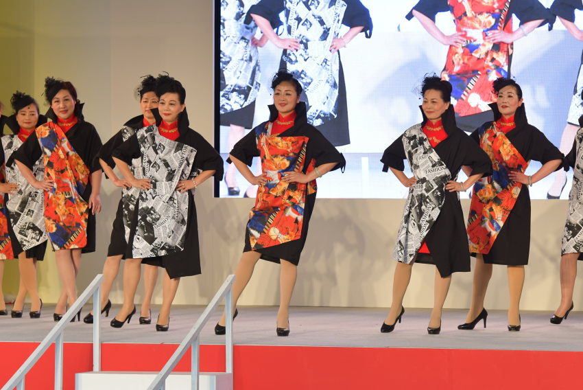 ファッション・舞踊 浙江国際旗袍会 放飛夢想