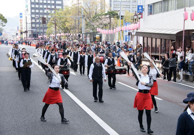 シャイニングナイツマーチングバンド・静岡女子高校